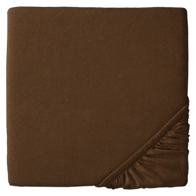 Circo™ Knit Fitted Crib Sheet - Brown