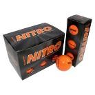 Nitro Blaster 12pk Orange Golf Balls