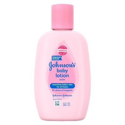 Johnson's Baby Pink Baby Lotion 3 fl oz