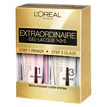 L'Oreal® Paris Extraordinaire Gel-Lacque 1-2-3 Nail Color Kit