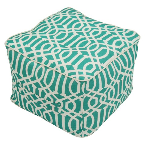 Threshold™ Outdoor Fabric Pouf