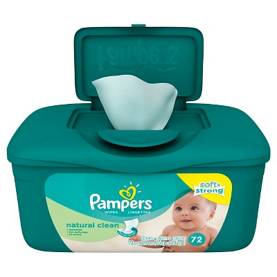 Pampers 72 ct