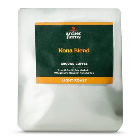 light roast kona blend ground coffee 20oz archer farms. Black Bedroom Furniture Sets. Home Design Ideas