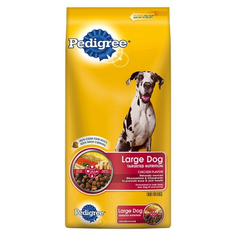 Pedigree Large Breed® Dry Food for Adult Dogs Over 55 lb. 36.4 lb.
