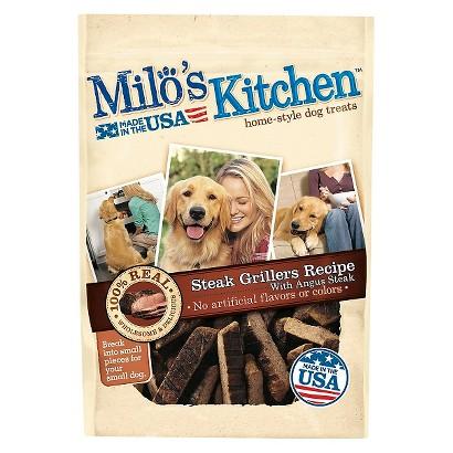 Milo's Kitchen® Home Style Dog Treats  - Steak Grillers (3 oz)