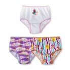 Toddler Girls' 3 Pack Bubble Guppies Panty