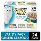 Fancy Feast Seafood Feast Variety Grilled Wet Cat Food - 3 oz (24 pk)