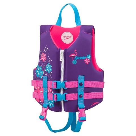 Speedo Child Girls' Neoprene Lifejacket