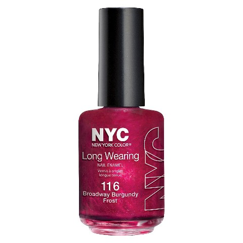 NYC Long Wearing Nail Color - Burgundy