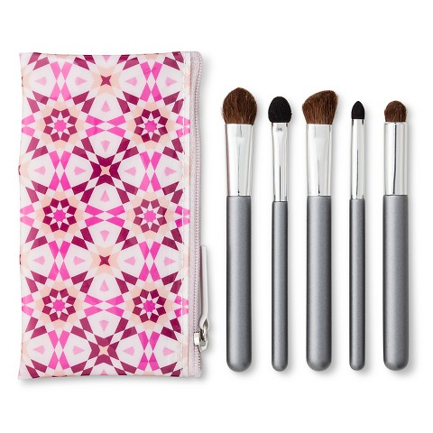 up & up™ Angled Tip Cosmetic Eye Brush Set - 6 ct
