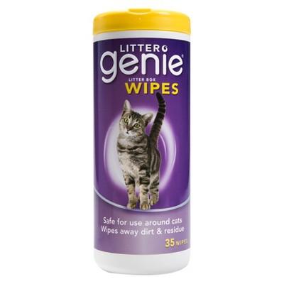 Litter Genie Litter Box Wipes 35 ct