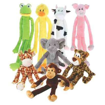 Multipet Swinging Plush Animal Dog Toys