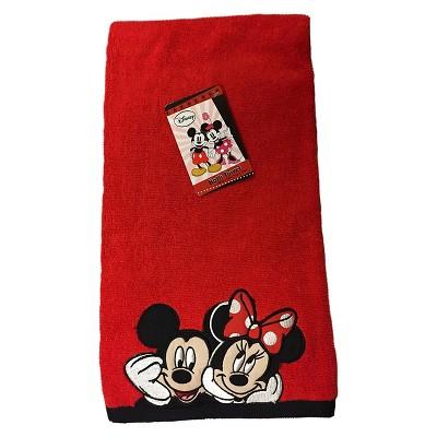 Disney® Mickey & Minnie Bath Towel