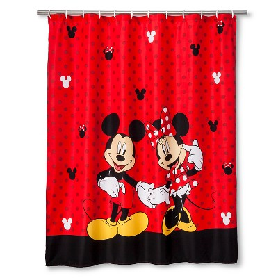 Disney® Mickey & Minnie Shower Curtain