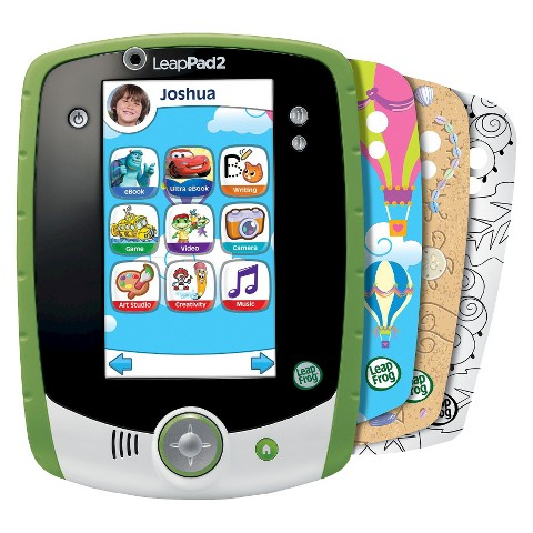LeapFrog LeapPad2 Custom Edition Kids' Learning Tablet - Green