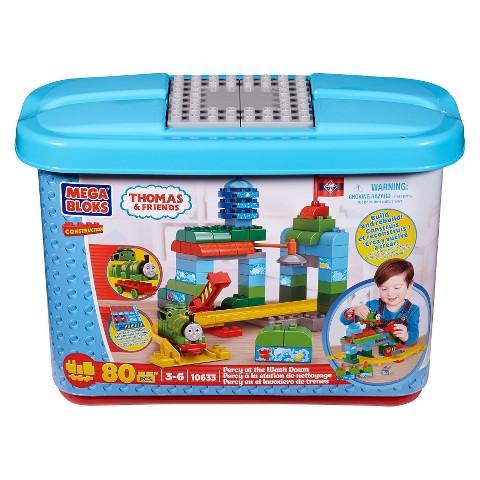 Mega Bloks Thomas & Friends Percy at the Wash Down