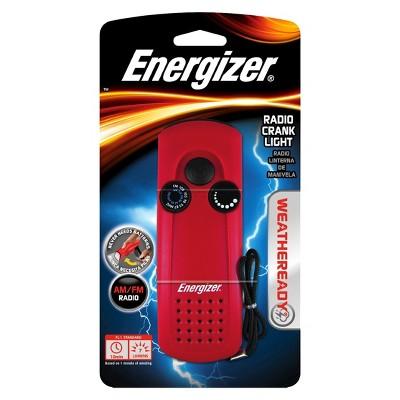 Energizer Weather Ready LED Radio Crank Flashlight