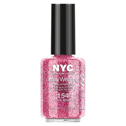 Nail Color  154 LW .45floz Pink Bling