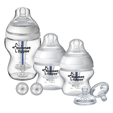 Tommee Tippee Sensitive Tummy Starter Baby Bottle Set