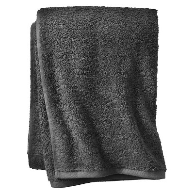 Room Essentials™ Fast Dry Bath Towel - Flat Gray
