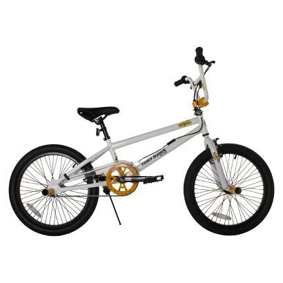 "20"" Tony Hawk Catfish Boys BMX Bike - White/Gold"