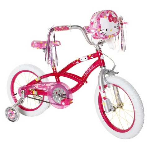 "Girl's Hello Kitty Bike - Pink (16"")"