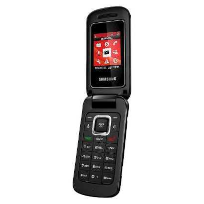 payLo Samsung Entro Prepaid Cell Phone - Black