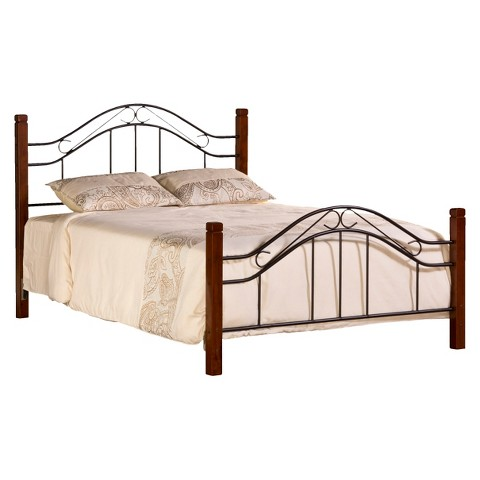 Martson Duo Panel Bed with Rails - Hillsdale Furniture