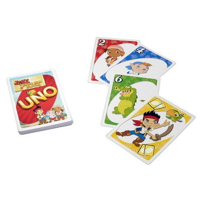My First UNO - Jake and the Neverland Pirates
