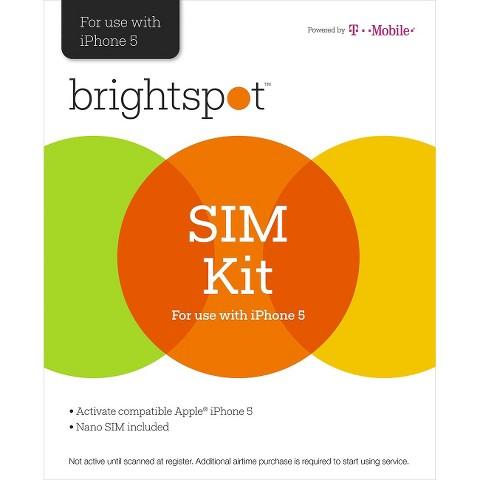 brightspot NanoSim Activation Kit