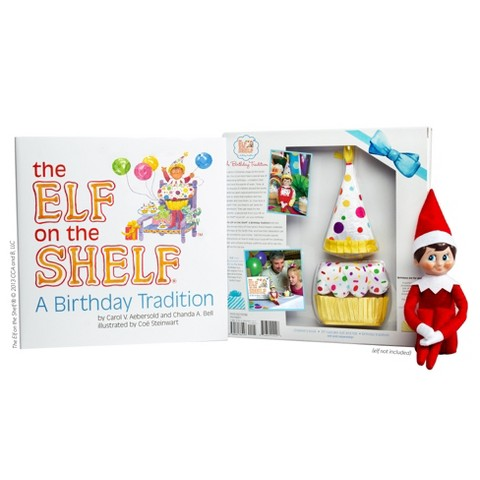 The Elf on the Shelf®: A Birthday Tradition (elf not included)