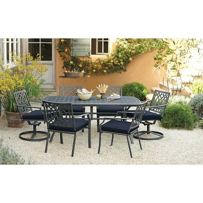 Harper metal patio furniture collection thres target for Outdoor furniture target
