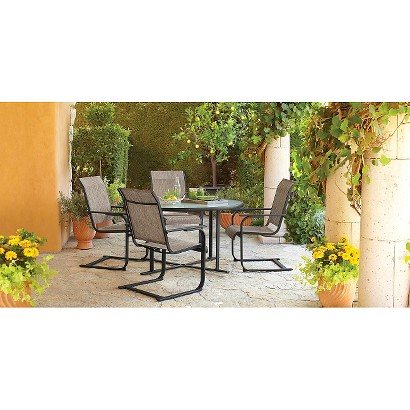 threshold linden sling patio dining furniture collection