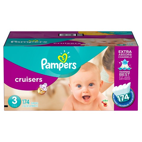 Pampers Cruisers Diapers Economy Plus Pack + $30 Target GIft Card