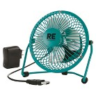 Room Essentials Personal Fan With Usb Cl Adptr