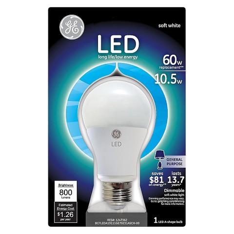GE 60-Watt LED Aline Light Bulb