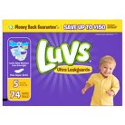 Luvs Diaper Big Pack - Size 5  (74 Count)