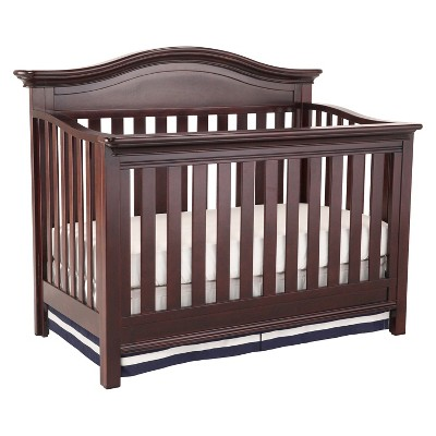 Simmons Kids SlumberTime Augusta 4-in-1 Convertible Crib - Molasses