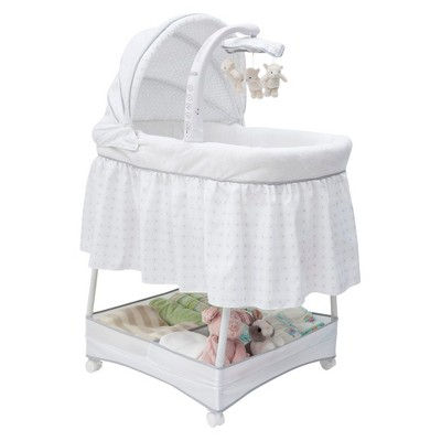 Simmons Kids Elite Gliding Bassinet - Spiral