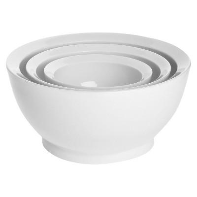 Calibowl Set of 3 Ultimate Mixing Bowl - White