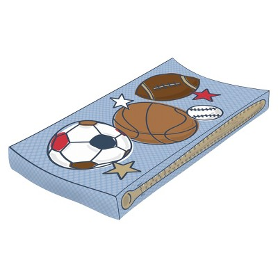 Baby's Journey Measure Me™ Changing Pad Cover - Sports