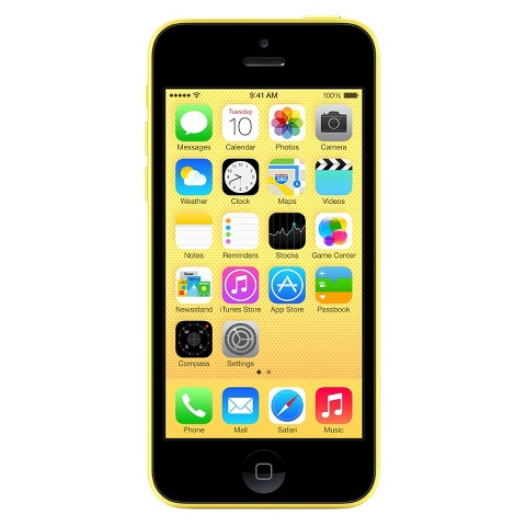 iPhone 5c 16GB Yellow - Sprint with 2-year contract