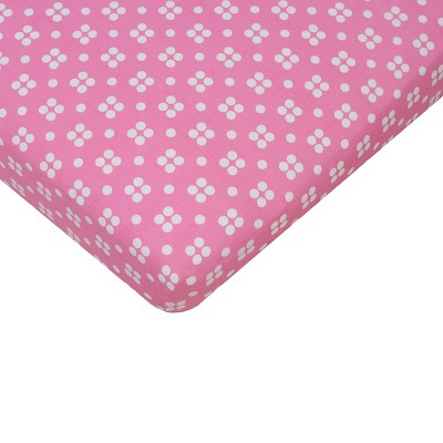 Ecom Baby Fitted Sheet Sumersault PNK