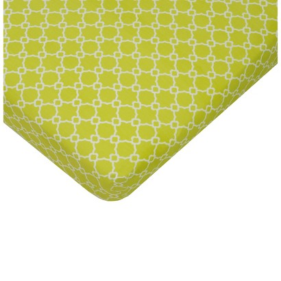 Sumersault Mix & Match Lime Crib Sheet