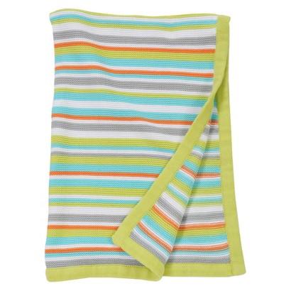 Sumersault Mix & Match Blue Stripe Blanket