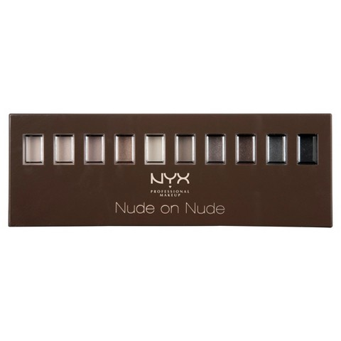NYX Set Make Up - Nude On Nude Palette