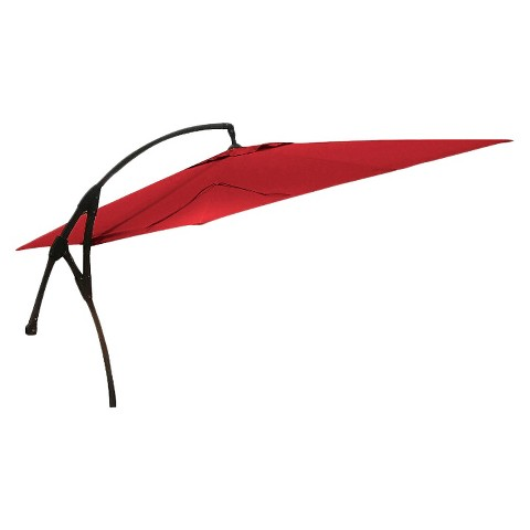 Threshold™ Replacement Square Offset Patio Umbrella Canopy - Red 9'