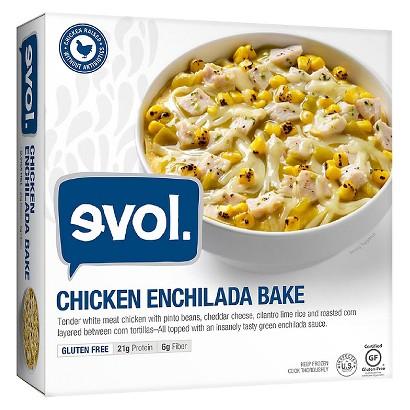 Evol Chicken Enchilada Bowl - 9 oz