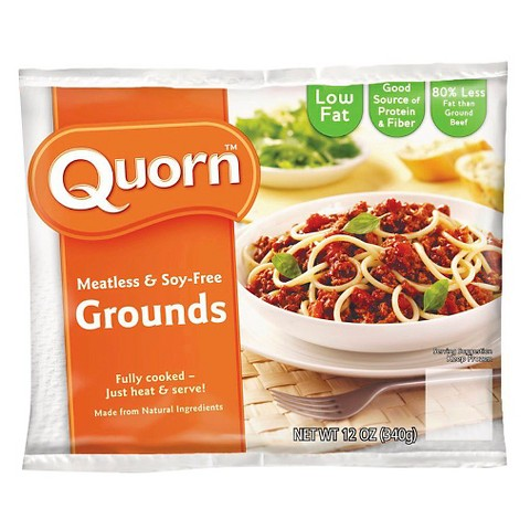 Quorn Meatless And Soy Free Grounds 12 Oz Target