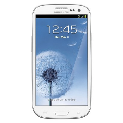 brightspot Samsung Galaxy SIII Cell Phone - White (T999L)